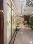 深圳发展银行中空百叶隔墙