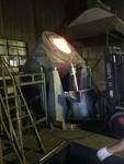 600kg可倾式电熔化炉 坩埚式熔炉