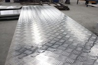 5083五条筋花纹铝板 船用防滑铝板