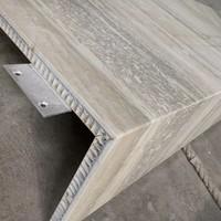 幕�椌O鋁蜂窩板倣石紋石材鋁蜂窩板