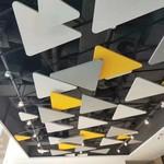 三角铝板叠层装饰吊顶铝单板幕墙