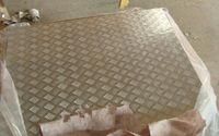 供应防滑铝板 五条筋铝板 压花铝板