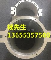 永磁電動機水冷鋁殼鋁合金基座加工