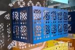 装饰工程铝材窗花铝空调罩