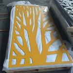 餐吧酒店幕墙铝艺镂空雕花铝单板