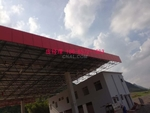 定制中海油广告招牌红色幕墙铝单板