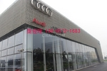 奥迪4S店凹凸铝单板26*60mm菱孔