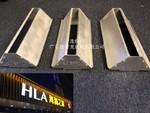 HLA海澜之家门店铝单板装实物图样