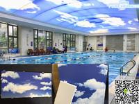 蓝天白云主吊挂3D喷绘铝单板'厂家'