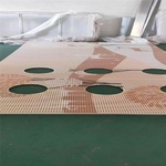 珀丽校区穿孔3D喷绘铝板详细方案