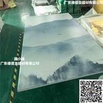 一楼直排孔3D彩绘铝板安装与验收