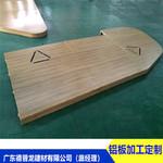 新版三角形3D木纹铝单板生产厂家