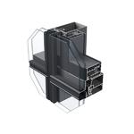 兴发铝业专利智慧型挂钩式幕墙系统