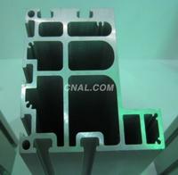挤压航道铝型材,异型输送铝制品,流水线型材,导轨铝材