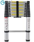 創乾CQH-3.2便攜式竹節伸縮鋁梯