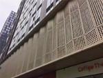 酒店氟碳喷涂冲孔铝单板,铝板厂家
