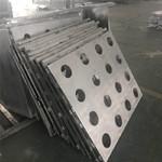百货广场外墙工程冲孔弧形铝单板