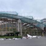 電子工業區門樓廊架改造工程鋁單板