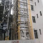 加裝電梯鋼架井道外�椓佴ⅥT單板