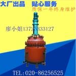 广州电加热搪玻璃反应釜铝箔设备
