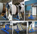 厂家直供  大飞机发动机维修梯