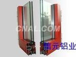 ZP55隔热注胶平开窗铝型材