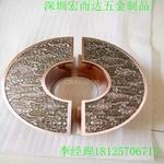 深圳鋁雕廠 鋁工藝品 鋁拉手定制