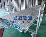 AL6063喷砂铝棒