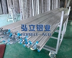 AL6063噴砂鋁棒