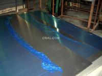 蓝色覆膜铝板