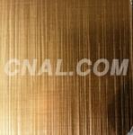 供应金色氧化拉丝铝板上海铝板