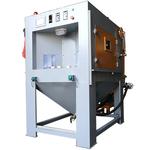 自動噴砂機多工位轉盤式連續噴砂機