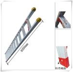 4米单直梯,超宽防滑踏步梯,单面铝梯