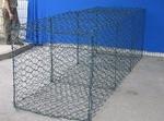 矽膠包塑石籠網