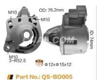 廠家供應汽車起動機端蓋QS-BO005 鋁合金壓鑄配件