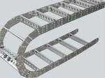 移动小车电缆钢制拖链