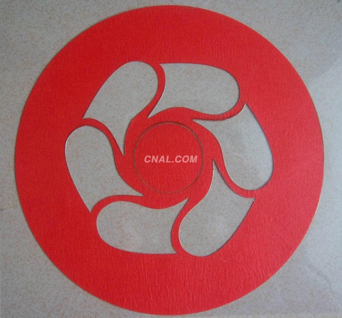 方形贴纸,圆形贴片,定制高温贴纸