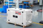 公司用静音15千瓦柴油发电机供应