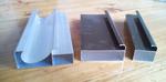 供应D款全堵晶钢门铝材橱柜门材料