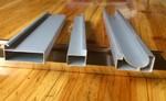 B款C型晶鋼門鋁材櫥柜門鋁材材料