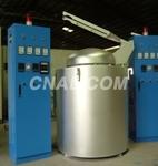 供應金力泰400公斤坩堝式熔鋁爐
