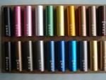 烤漆鋁管氧化著色鋁管彩色鋁管加工