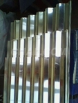 屋面波纹铝板,建筑瓦楞铝板
