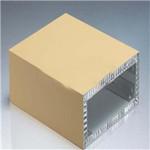 济南厂家定制隔音隔热优质蜂窝铝板 聚酯蜂窝板