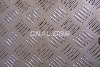 各种规格五条筋花纹铝板