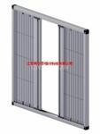 阿尔泰铝合金隐形纱窗及配件定制