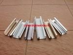 工业铝材厂家 喷砂磨砂铝合金型材