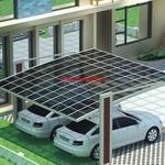 铝合金车棚 采用静电粉末喷涂工艺