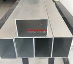 鋁方管現貨打孔加工切割