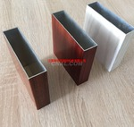来样订做木纹转印铝型材